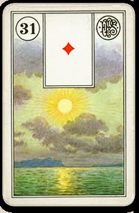 slunce lenormand