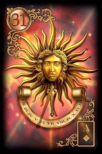 lenormand slunce