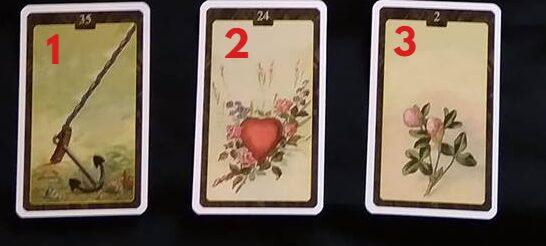 Výklad karet na týden z Lenormand karet