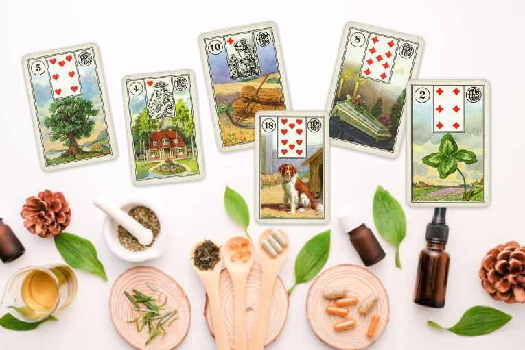lenormand karty zdraví význam karet