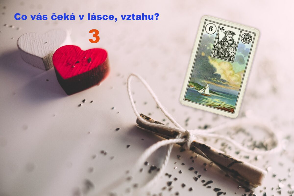 Lenormand Mraky láska