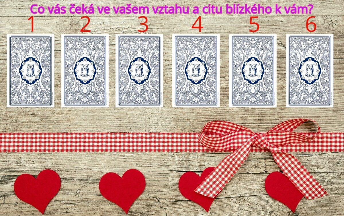 Výklad karet na vztah a city blízké osoby