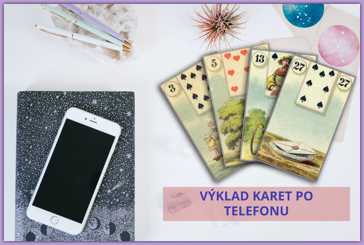 Výklad karet po telefonu