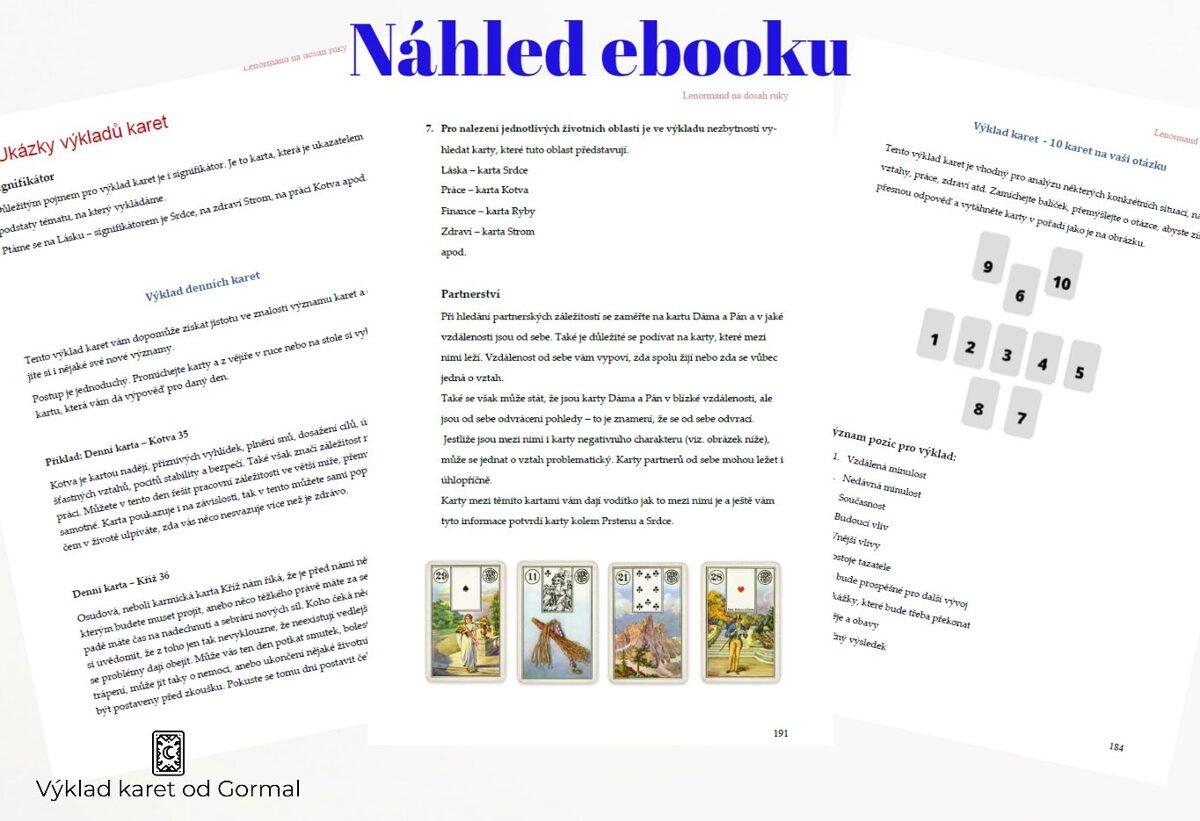 lenormand výklad karet ebook ukázka